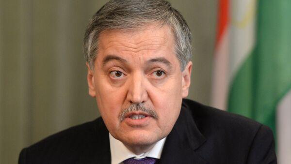 Министр иностранных дел Таджикистана Сироджиддин Аслов, архивное фото - Sputnik Тоҷикистон