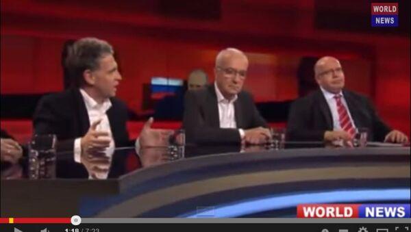 Хуберт Зайпель, немецкий журналист, защищает президента Путина - Sputnik Таджикистан
