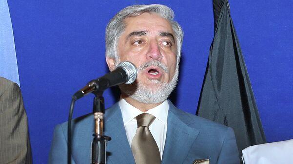 Глава правительства Афганистана Абдулло Абдулло. Архивное фото - Sputnik Таджикистан