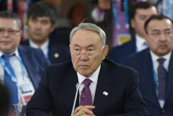 Нурсултан Назарбаев. Архивное фото - Sputnik Таджикистан