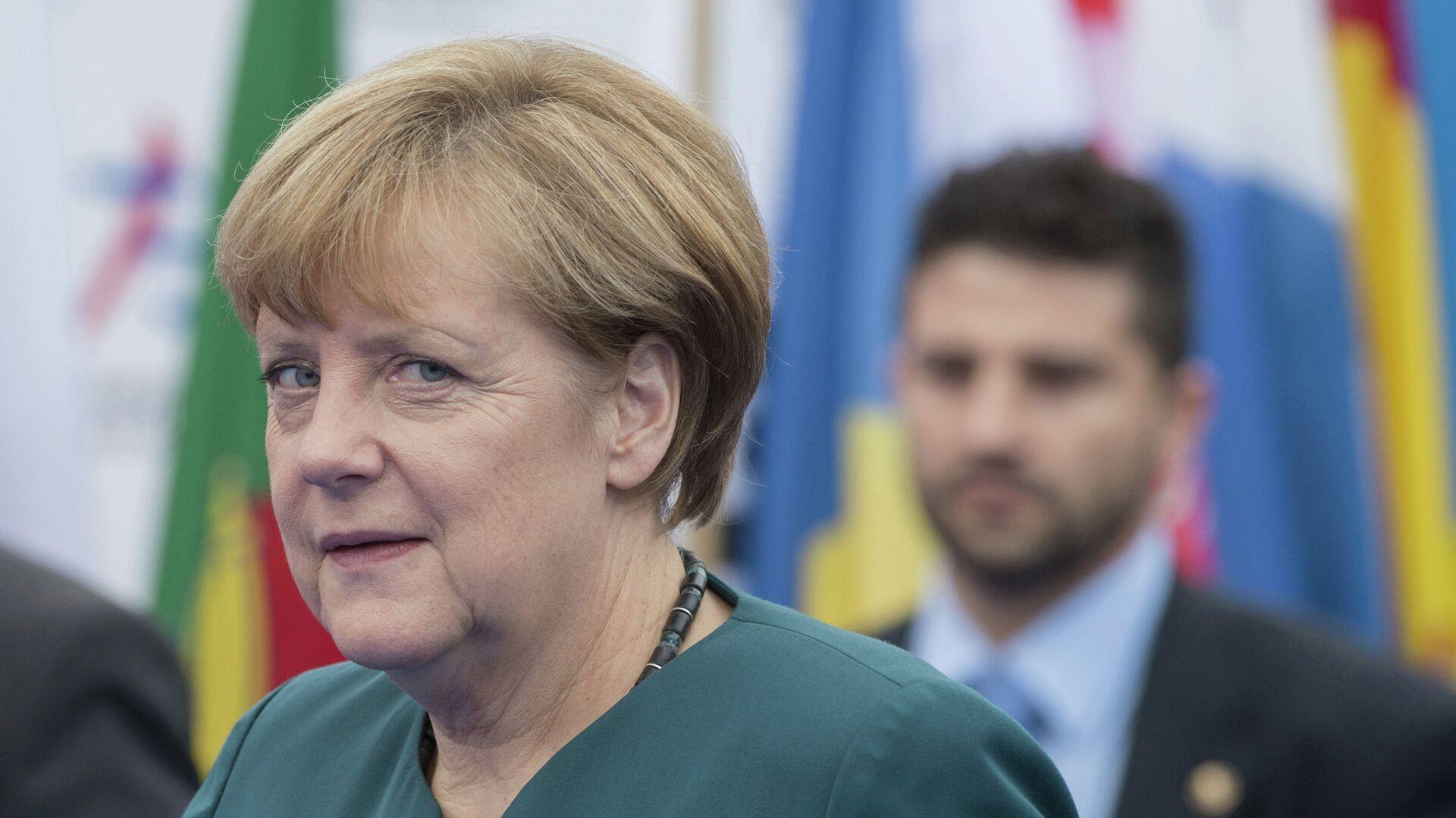 Канцлер Германии Ангела Меркель. Архивное фото - Sputnik Таджикистан, 1920, 12.04.2021