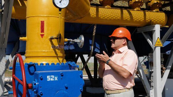 Шебелинское отделение управления переработки газа - Sputnik Таджикистан
