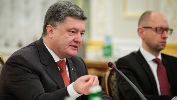Президент Украины Петр Порошенко. Архивное фото - Sputnik Таджикистан