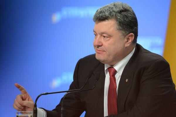 Президент Украины Петра Порошенко. Архивное фото - Sputnik Таджикистан