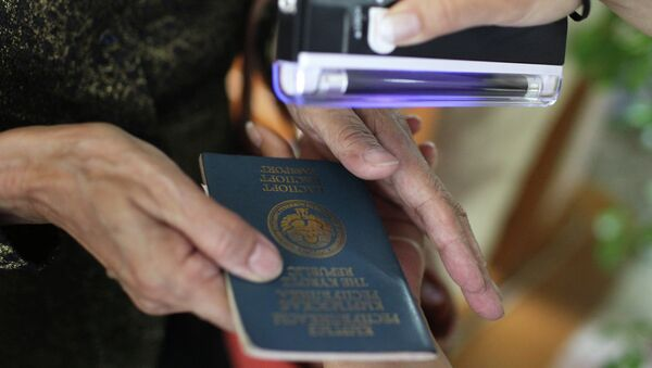 Кыргызский паспорт - Sputnik Таджикистан