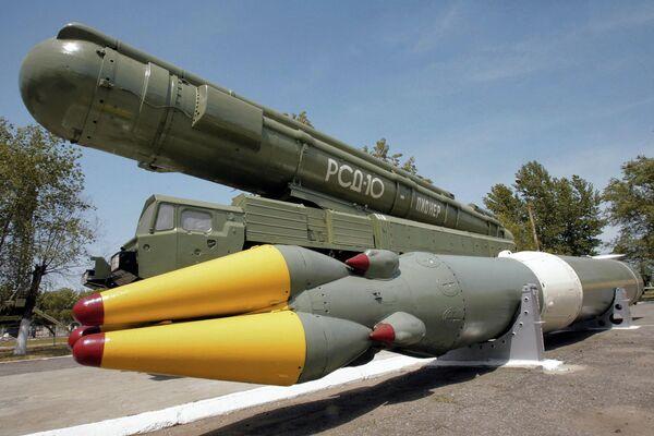 Ракетный комплекс РСД-10 ПИОНЕР. Архивное фото - Sputnik Таджикистан