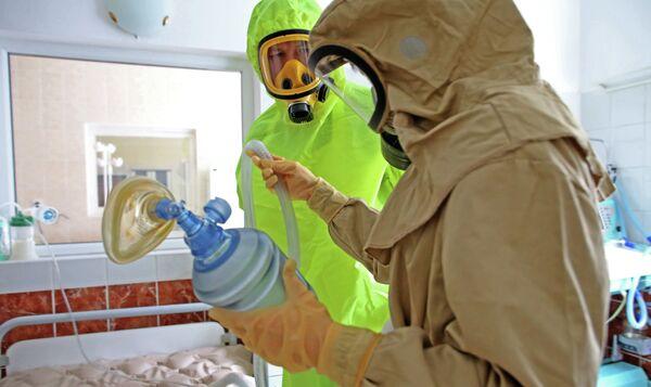 Борцы с Эболой. Архивное фото - Sputnik Таджикистан