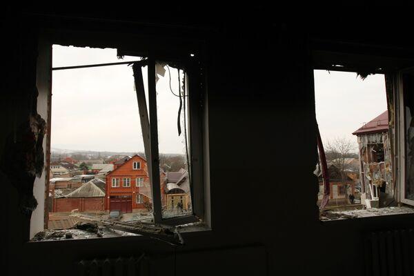 Ликвидация последствий нападения боевиков. Архивное фото - Sputnik Таджикистан