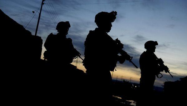 Военные США в Ираке. Архивное фото - Sputnik Таджикистан