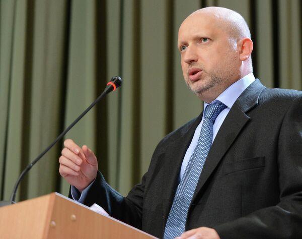 Александр Турчинов. Архивное фото - Sputnik Таджикистан