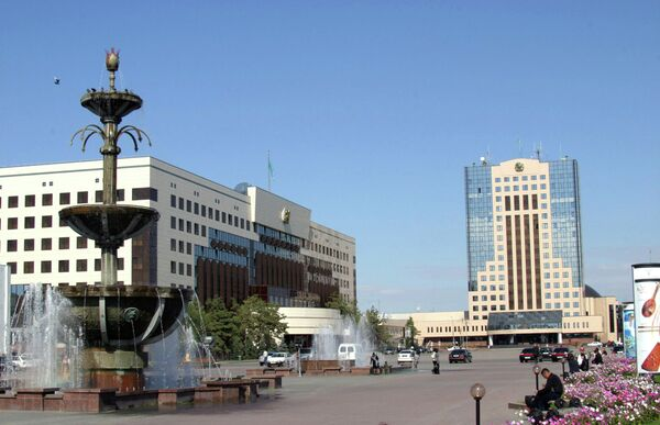 Здание парламента Республики Казахстан. Архивное фото - Sputnik Таджикистан