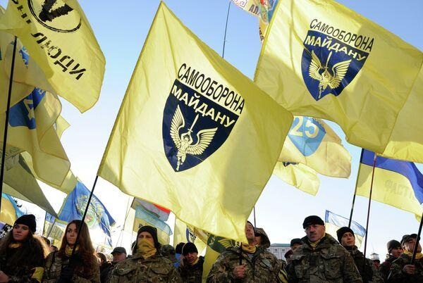 Годовщина начала событий на киевском Майдане. Архивное фото - Sputnik Таджикистан