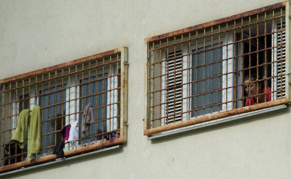 Центр содержания нелегальных мигрантов. Архивное фото - Sputnik Таджикистан