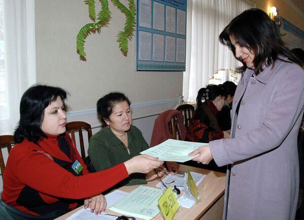 Парламентские выборы в Узбекистане. Архивное фото - Sputnik Таджикистан