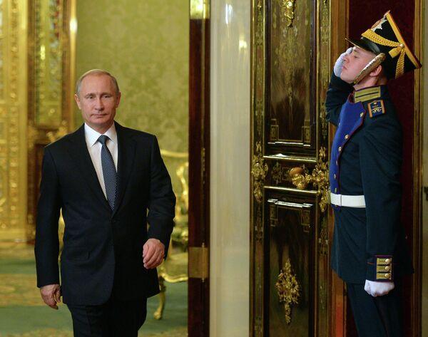 Владимир Путин, президенти ФР. Акс аз бойгонӣ - Sputnik Тоҷикистон