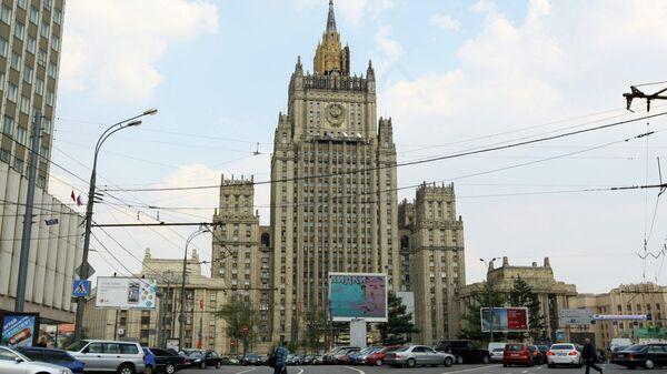 Здание МИД России, архивное фото - Sputnik Таджикистан