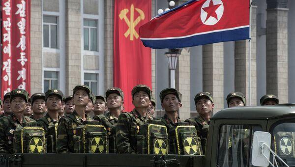 Военнослужащие корейской армии. Архивное фото. - Sputnik Таджикистан