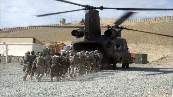 Военнослужащие США в Афганистане. Архивное фото - Sputnik Таджикистан