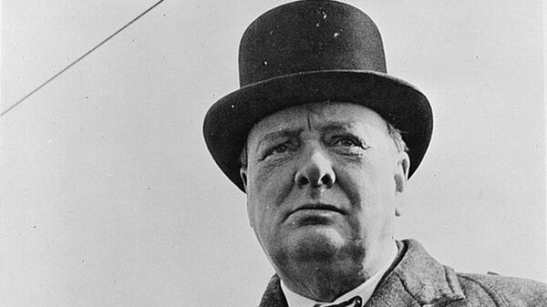 Премьер-министр Великобритании Уинстон Черчилль. Архивное фото - Sputnik Таджикистан