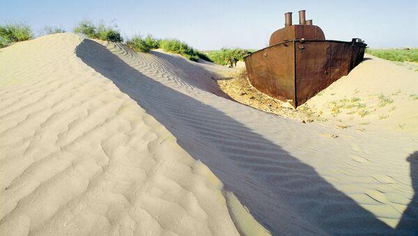 Пустыня на месте Аральского моря - Sputnik Таджикистан