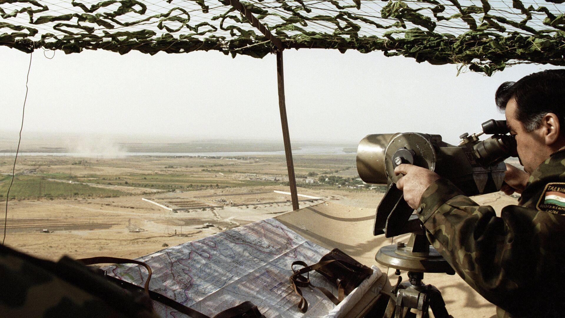 Граница Таджикистана с Афганистаном, архивное фото - Sputnik Тоҷикистон, 1920, 25.07.2021