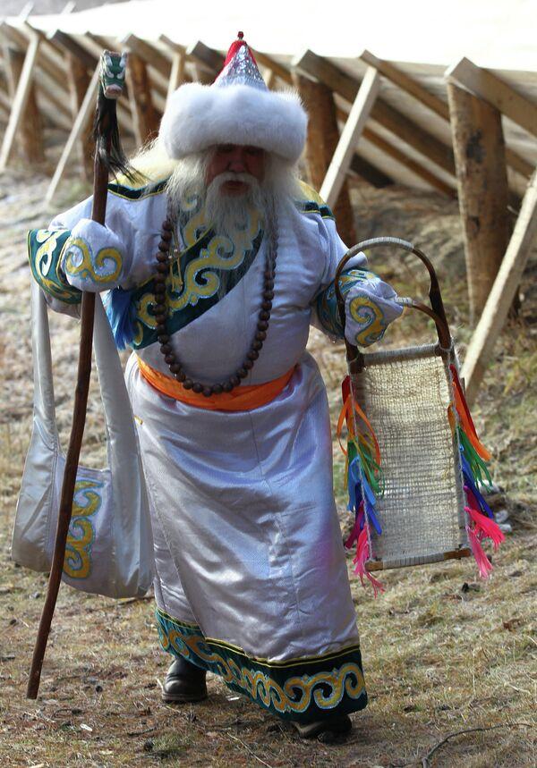 Празднование Дня рождения Деда Мороза в Великом Устюге - Sputnik Таджикистан
