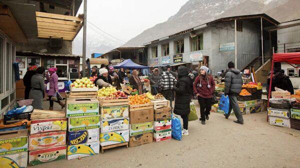 На рынке г. Хорог. Архивное фото - Sputnik Таджикистан