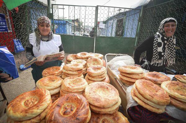 Зеленый рынок в Душанбе - Sputnik Тоҷикистон