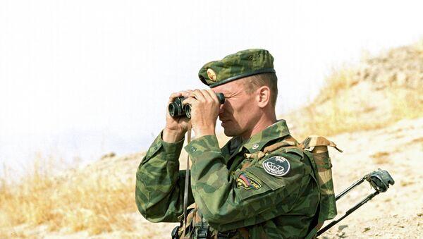 На участке таджикско-афганской границы. Архивное фото - Sputnik Таджикистан
