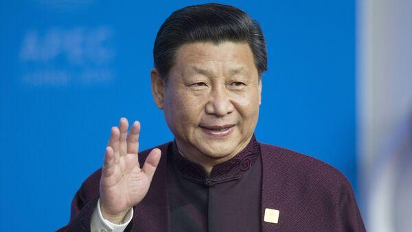Председатель КНР Си Цзиньпин. Архивное фото - Sputnik Таджикистан