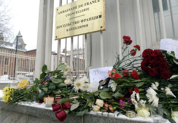 Посольство Франции в Москве. Архивное фото - Sputnik Таджикистан