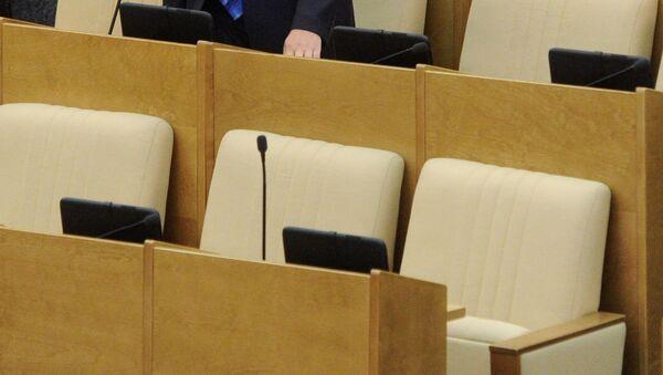 Депутатское кресло. Архивное фото - Sputnik Таджикистан