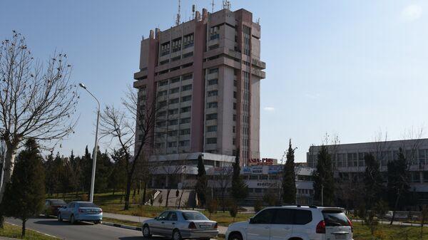 Газетно-журнальный комплекс Шарки Озод. Архивное фото - Sputnik Таджикистан