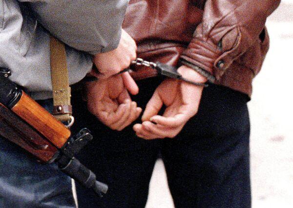 Задержанный.. Архивное фото - Sputnik Таджикистан