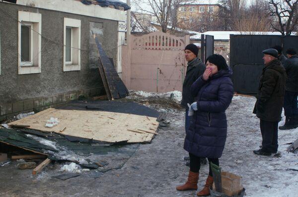 Последствия обстрелов Донецка - Sputnik Таджикистан