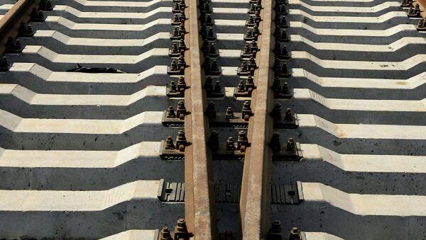 Железная дорога, архивное фото - Sputnik Таджикистан