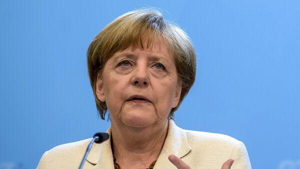 Канцлер Германии Ангела Меркель. Архивное фото - Sputnik Таджикистан