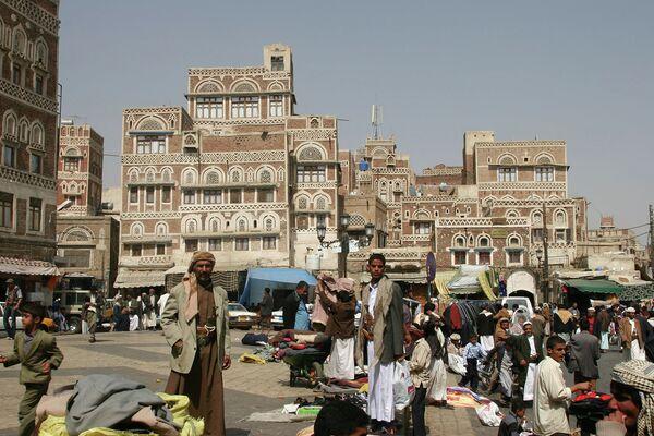 Йемен, Сана. Архивное фото - Sputnik Таджикистан