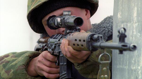 Снайпер, архивное фото - Sputnik Таджикистан