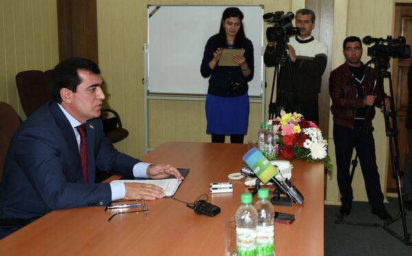 Пресс-конференция ТЖД - Sputnik Таджикистан