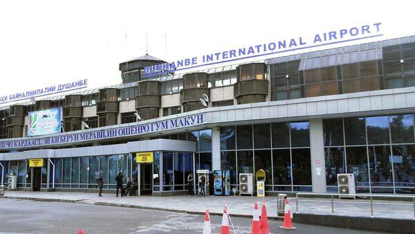 Здание Международного аэропорта Душанбе. Архивное фото - Sputnik Таджикистан