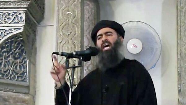 Абу Бакр Аль-Багдади, архивное фото - Sputnik Таджикистан