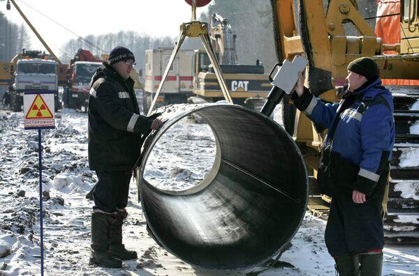 Ремонт магистрального газопровода. Архивное фото - Sputnik Таджикистан