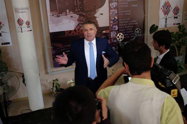 Режиссер Сафарбек Солиев. Фото с официальной страницы кинофестиваля Россия в Facebook. Архивное фото - Sputnik Таджикистан