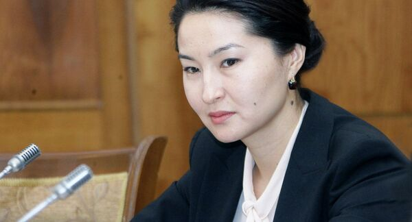 Индира Джолдубаева. Архивное фото - Sputnik Таджикистан