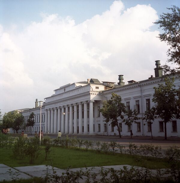 Здание Казанского государственного университета. Архивное фото - Sputnik Таджикистан