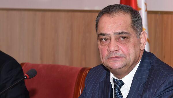 Омбудсмен Зариф Ализода на пресс-конференции Уполномоченного по правам человека в РТ - Sputnik Таджикистан