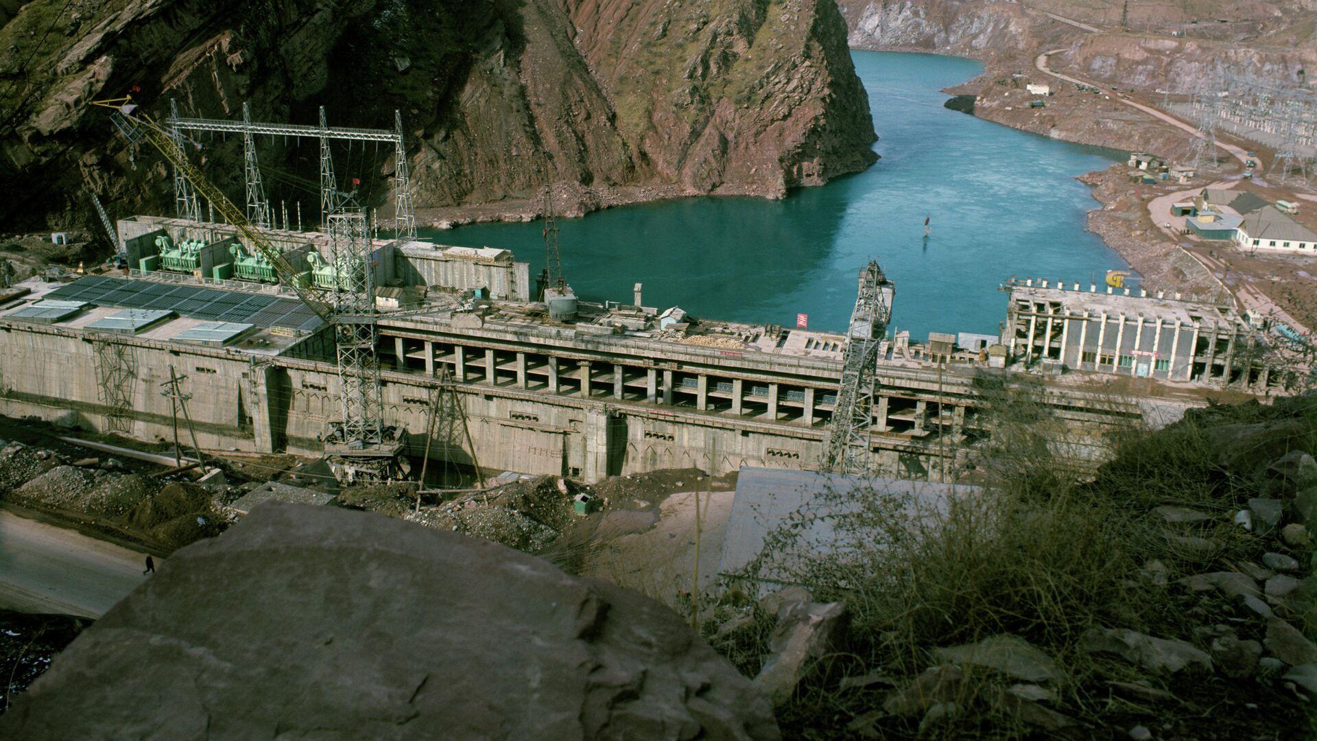 Нурекская ГЭС, архивное фото - Sputnik Тоҷикистон, 1920, 01.02.2021