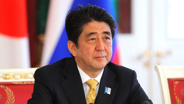 Премьер-министр Японии Синдзо Абэ. Архивное фото - Sputnik Таджикистан