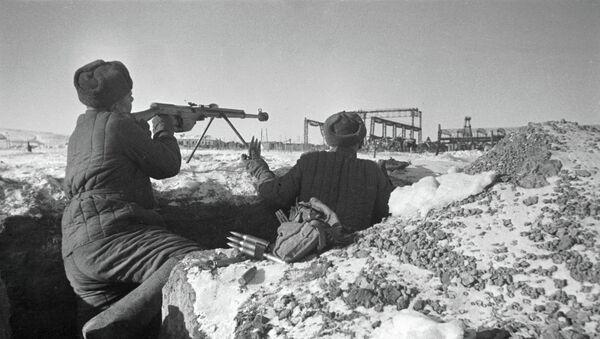 Сталинградская битва. Архивное фото - Sputnik Таджикистан